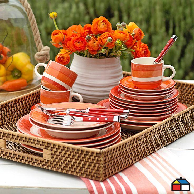 Colección menaje para disfrutar al #airelibre tu patio :)
