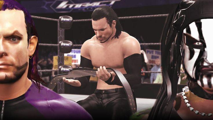 Jeff Hardy Tranforms into Willow The Wisp (Turns Heel) WWE 2K16