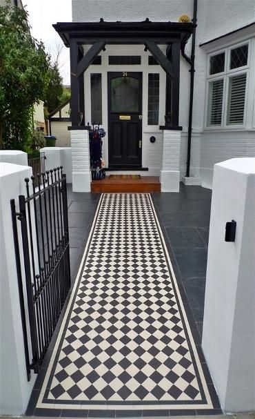 Kensington Mosaic Tile - Landscape Gardeners and Designers Kensington London