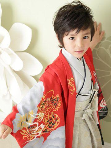 Kimono little boy.