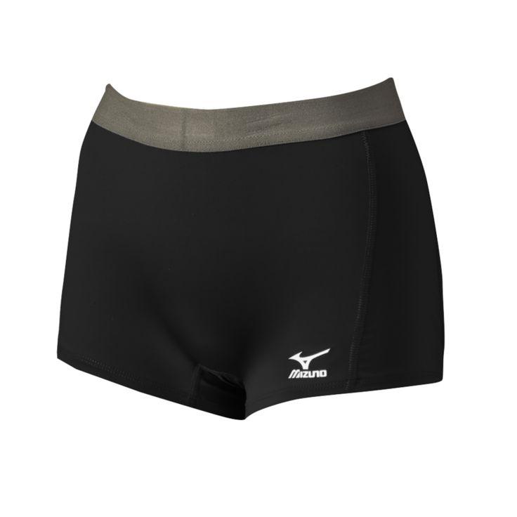 Mizuno Flat Front G2 Spandex Shorts