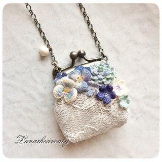 Lunar.h がま口ネックレス ¥6,500