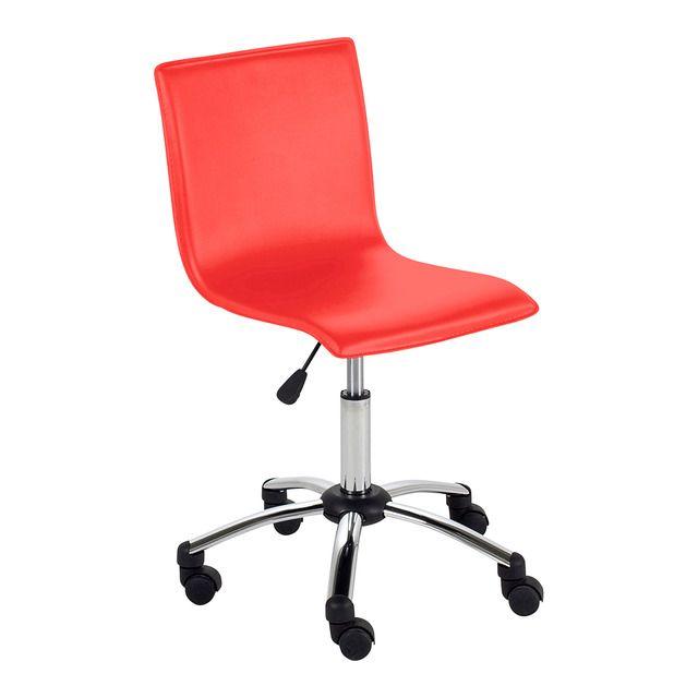 Divertida silla de escritorio, que será ideal para una habitación juvenil o un despacho desenfadado.