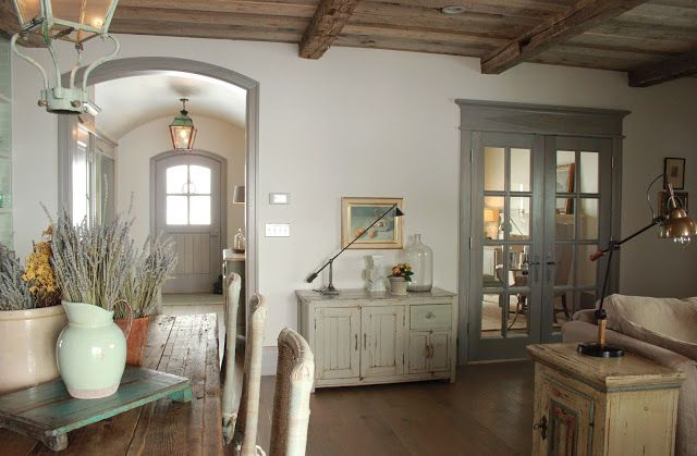 gorgeous home… best ever use of grey paint throughout the house. SMS