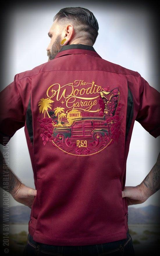 Bowling Shirt The Woodie Garage