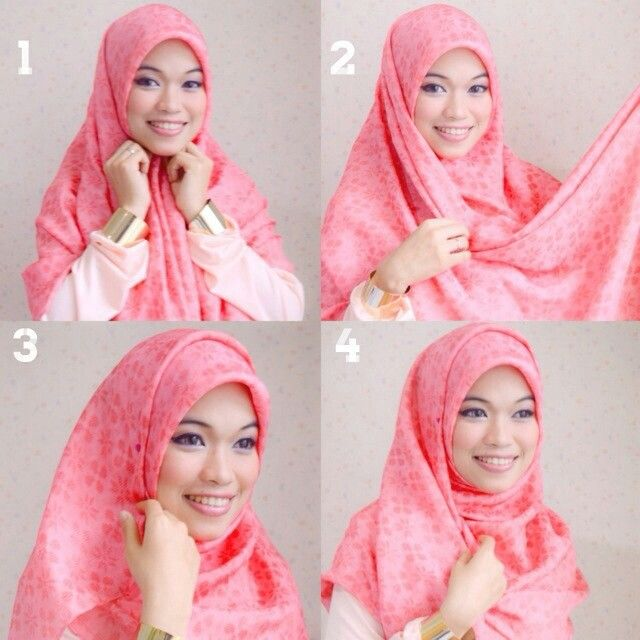 Hijab tutorial by gda's by ghaida
