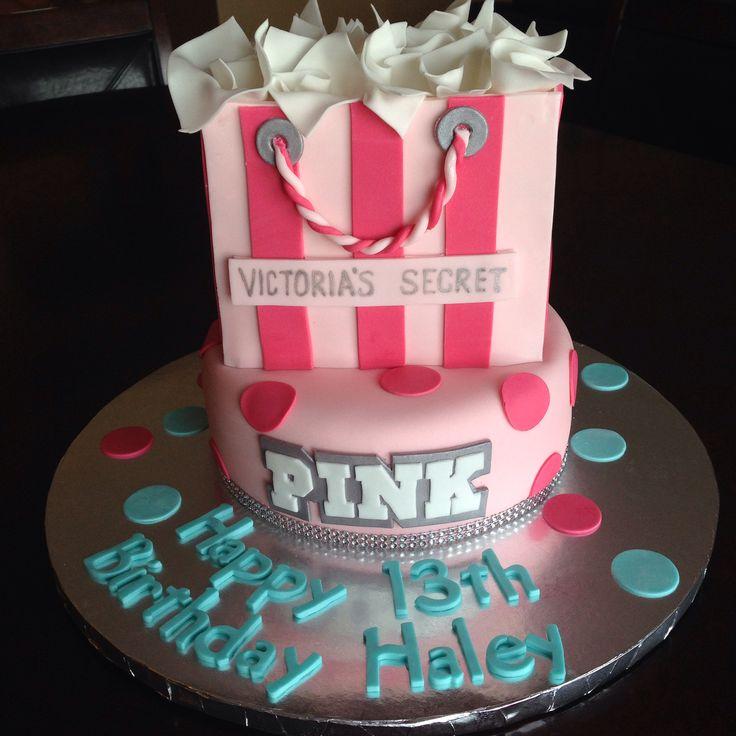 Victoria's Secret PINK Birthday Cake