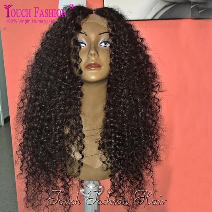 Peruklar Wigs Hot New Deep Parting 13x6 Lace Front Wig Curly Glueless Full Lace Wig Curly Human Hair Wigs with Baby Hair Bleached Knots