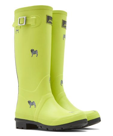Another great find on #zulily! Yellow Dog Welly Rain Boot - Women #zulilyfinds