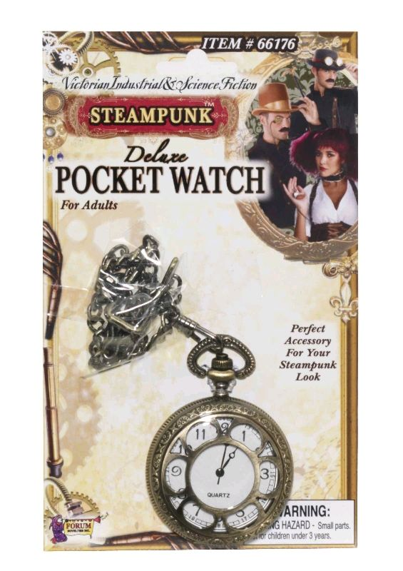 Steampunk Costume Pocket Watch - The Littlest Costume Shop in Melbourne
