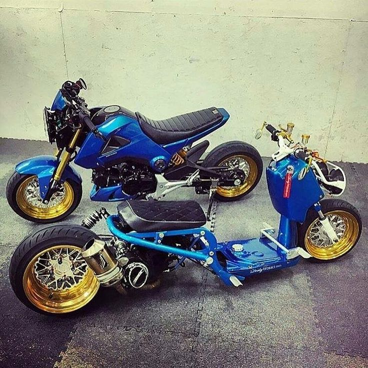 #Honda_Grom #Ruckus