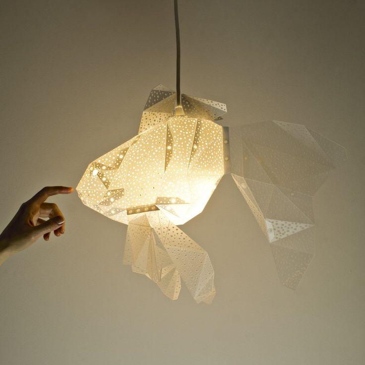 Goldfish Lampshade - STUDIO POP OBJECT