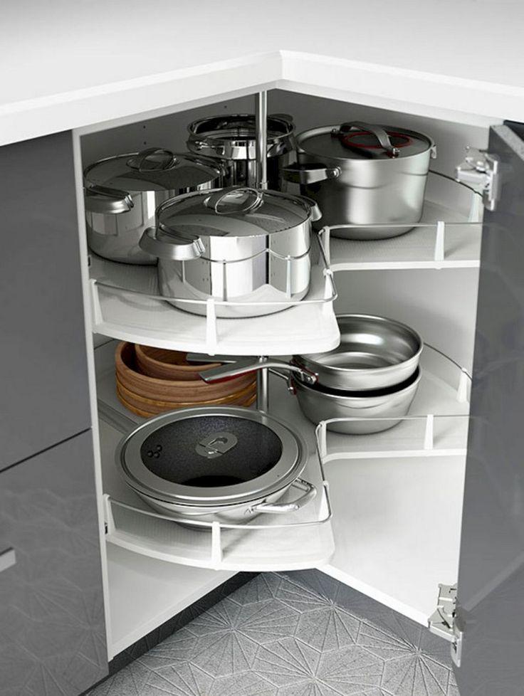 45 creative kitchen cabinet organization ideas