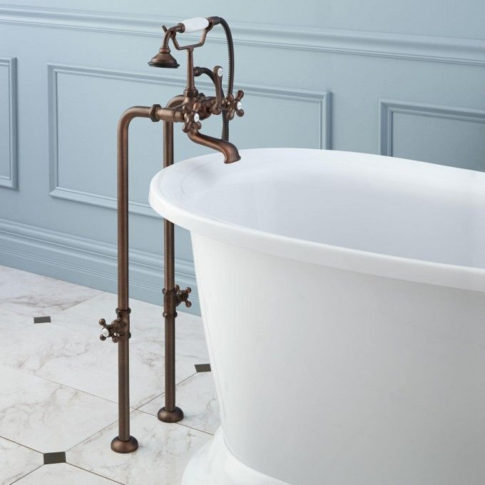 7 best Bath tubs signature hardware images on Pinterest   Bathroom ...