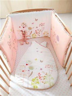 Tour de lit thème Florilège  - vertbaudet enfant