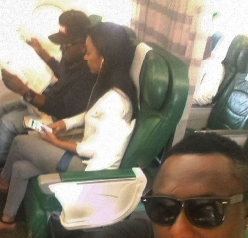 Ice Prince & girlfriend still waxing strong! Spotted on a plane together - http://www.thelivefeeds.com/ice-prince-girlfriend-still-waxing-strong-spotted-on-a-plane-together/