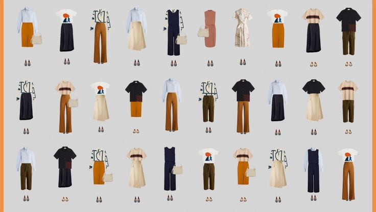 The casual dress code: 30 outfits for every occasion. // Capsule Wardrobe for Work Series. - YouTube