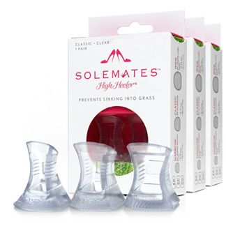 Solemates High Heeler®  The Solemates™ - High Heel® Protector Cap, Prevents Heels from Sinking into Grass