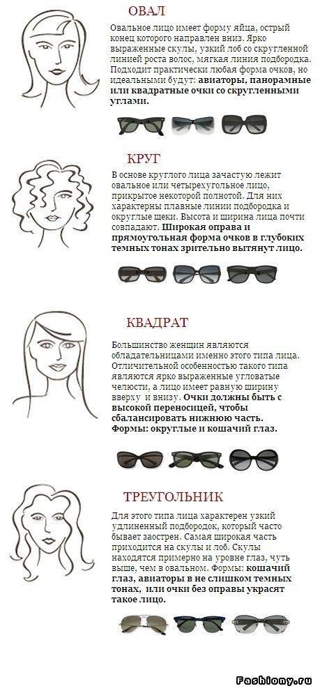 Как правильно выбрать солнцезащитные очки по форме лица, размеру / посмотреть на моделях как сидят солнцезащитные очки