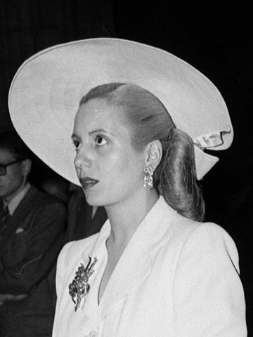 Eva Perón, wife of Juan Perón, former president of Argentina...Born Eva María Ibarguren 7 May 1919 Los Toldos, Argentina Died 26 July 1952 (aged 33) Buenos Aires, Argentin... she was diagnosed with advanced cervical cancer