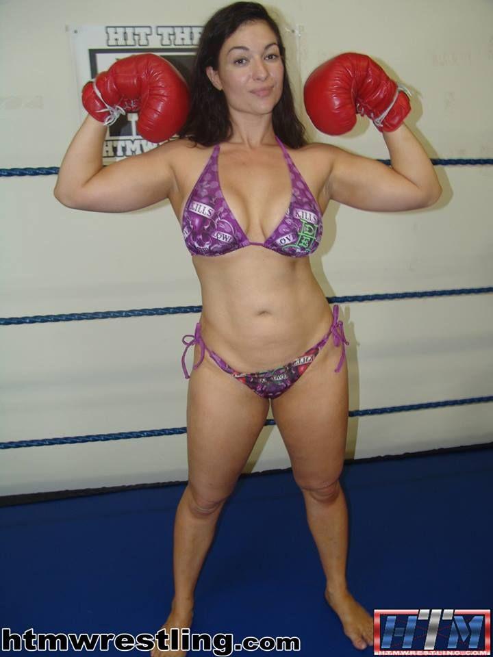 What result? bikini wrestling boxing