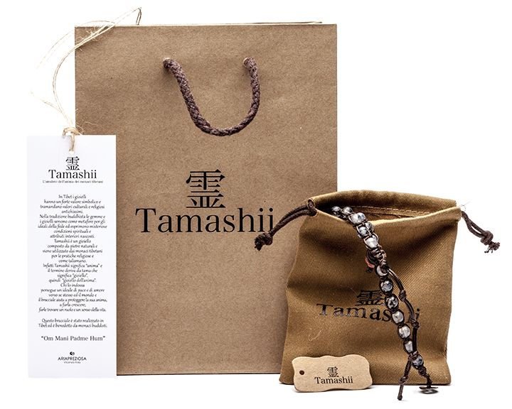 Tamashii - Bracciale originale tibetano Packaging