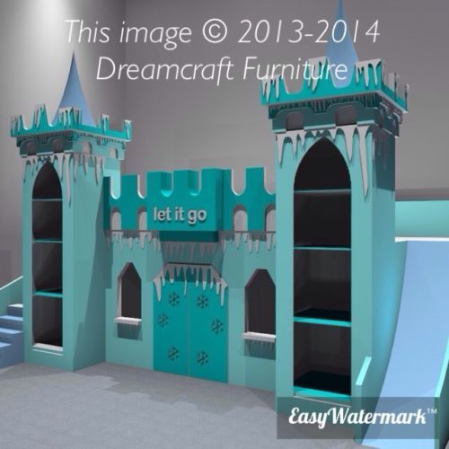 Frozen Themed Castle Bed