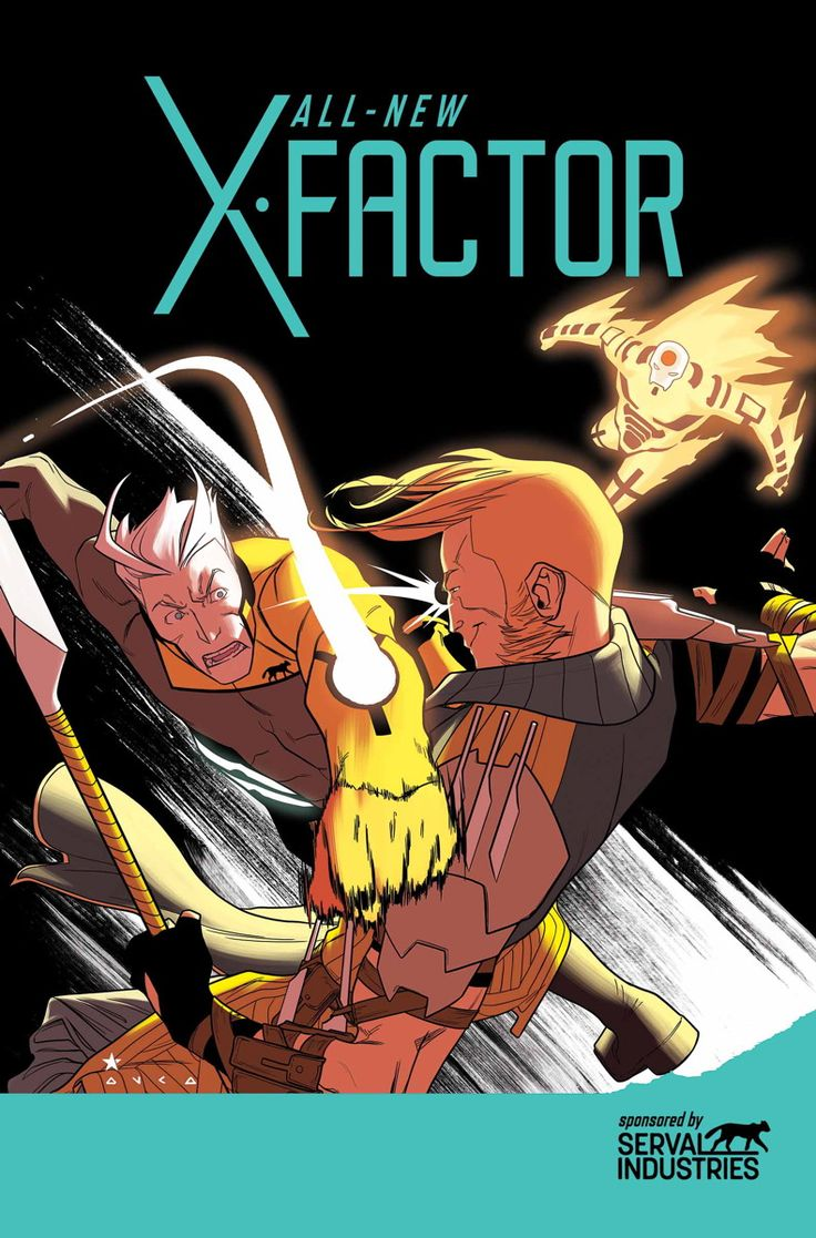 ALL-NEW X-FACTOR #17 & 18 PETER DAVID (w) CARMINE DI GIANDOMENICO (a) CoverS by KRIS ANKA & JARED FLETCHER AXIS TIE-INS! Issue #17 - • The X-Factor team, having stolen the nuclear football from the President, now has to handle a direct attack on Serval Industries courtesy of Longshot and Sunfire. Meanwhile, Quicksilver is kidnapped under extremely mysterious circumstances. 32 PGS./Rated T+ …$3.99 Issue #18 - • Sunfire returns to X-Factor with an odd proposal.  32 PGS./Rated T+ …$3.99