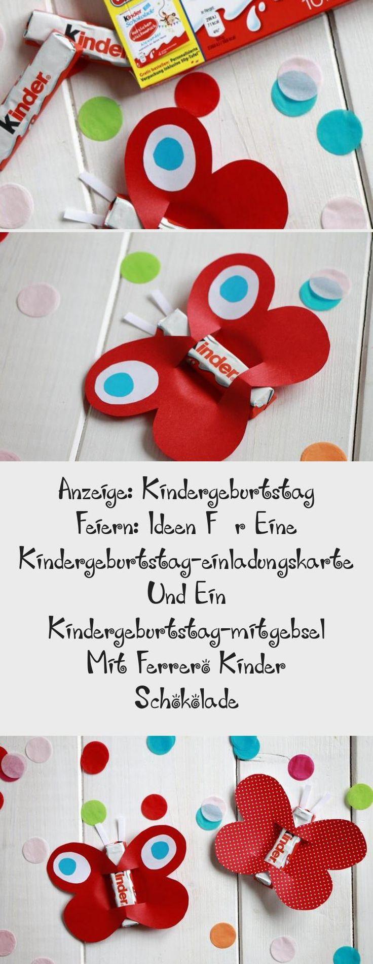 kindergeburtstag einladungskarte idee: diese kreative