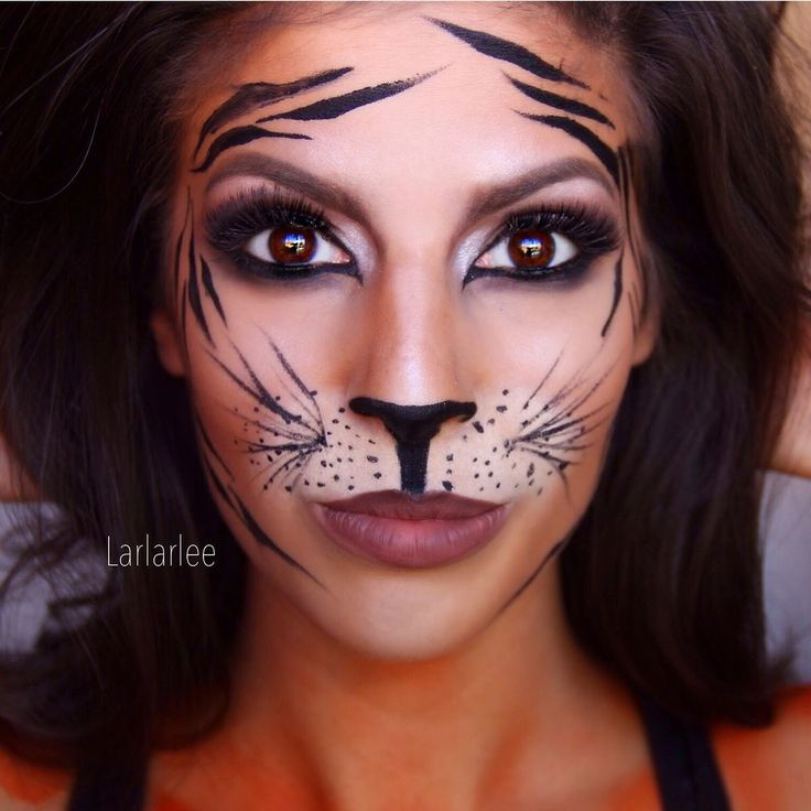 #tiger #makeup                                                                                                                                                                                 More