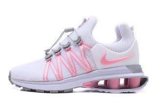 Nike Shox Gravity Pink White Grey Womens Footwear  0f4f8d4dc