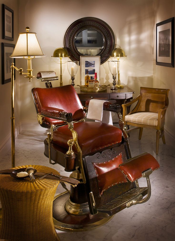 The Antique Barber's Chair From 1895 Restored to Perfection - 13 Best Traditional Barber Chairs Images On Pinterest Barber