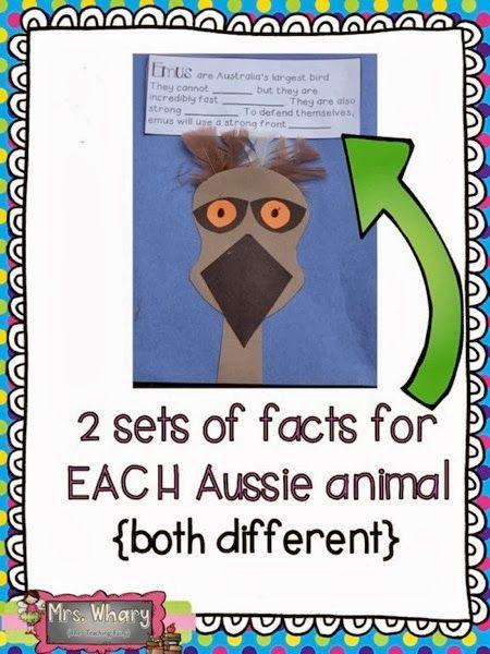 Mrs. Whary {The Teaching Fairy}: Australian Animals