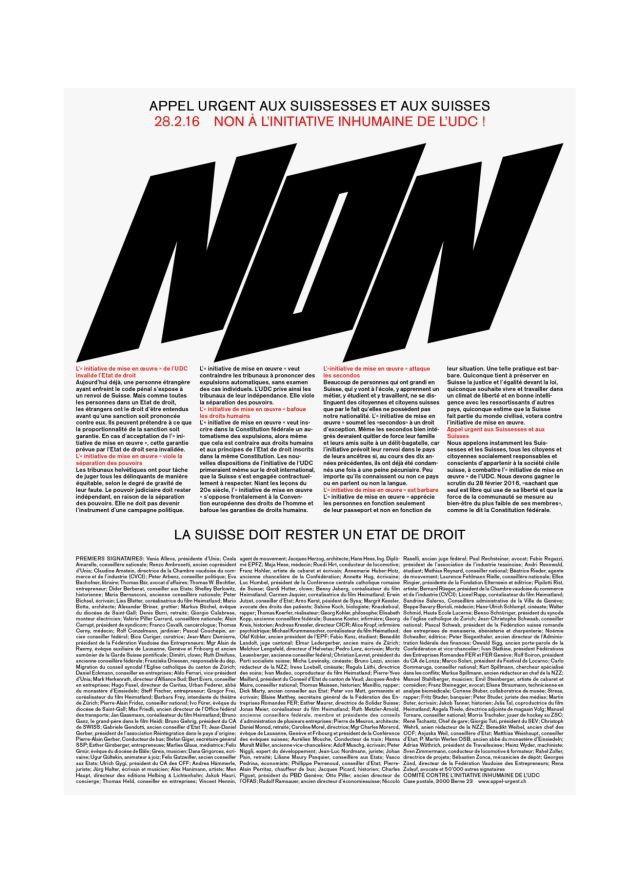 Hubertus Design Kampagne Gegen Die Durchsetzungsinitiative Graphic Design Typography Typographic Poster Typography Letters