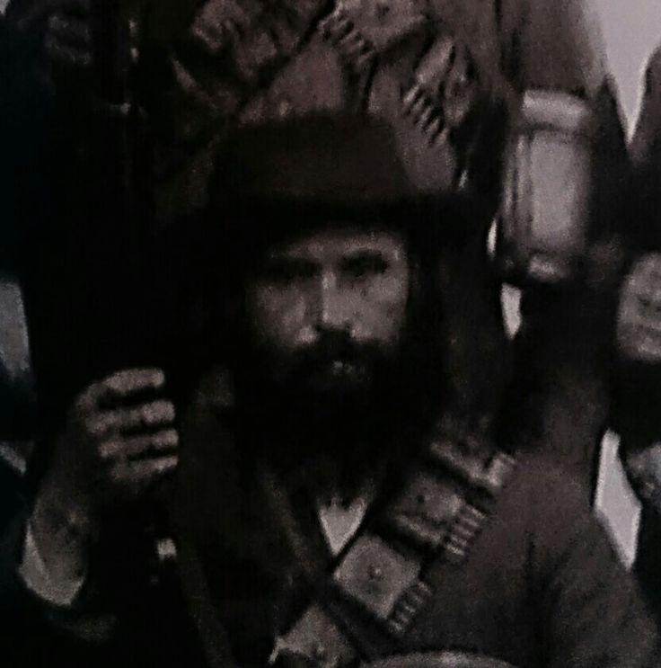 Genl. Sarel Oosthuizen,Krugersdorp- Kommando. Sneuwel14de Augustus 1900.