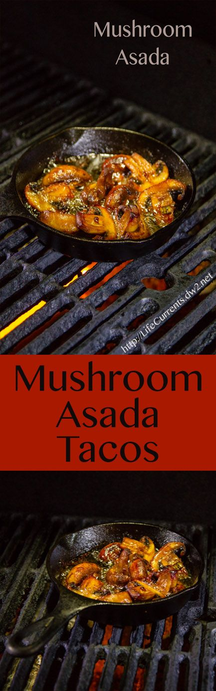 Mushroom Asada Tacos ... a delicious discovery by my husband for an awesome vegan taco!