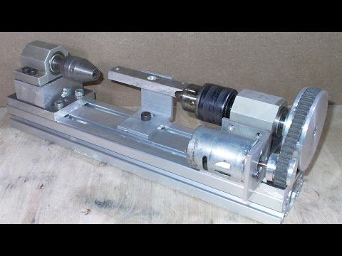 Homemade Wood Metal Mini Lathe Projects Diy Tailstock
