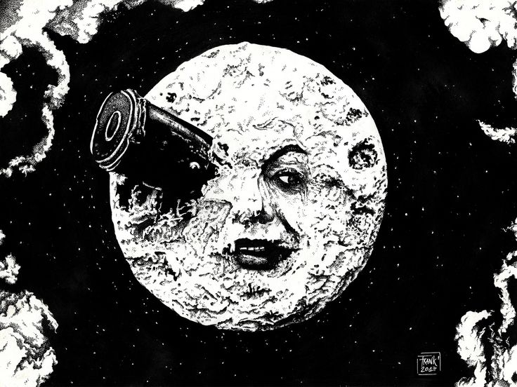 https://flic.kr/p/QxJgEs | Le Voyage dans la Lune | Le Voyage dans la Lune (1902) A movie of Georges Méliès.  This film I loved from the first moment I saw it and know the history of this author made this grow much more. He wanted to make magic in this new one that was for the one who was the cinema, I want to do the same and this is my way of thanking all that his films have done in my ...  Hope you like -------------- Follow mi Social Networks: Facebook: @FrankenstianStudio Instagram…