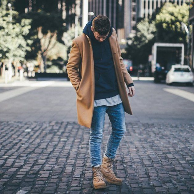 Beige overcoats fo life
