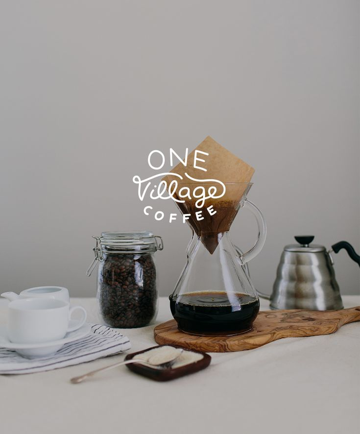 Our Work: One Village Coffee  : I love the story to this brand and it's organic which is aways better