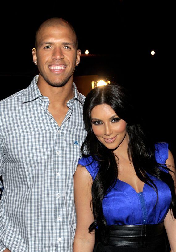 Kim Kardashian & Miles Austin That didn't last long