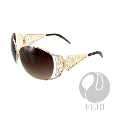 Ladies eye wear made with Mazzucchelli Acetate from GWT Galleries, FERI Designer Lines,