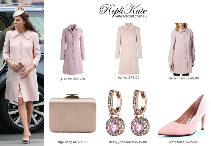 Kate Middleton Style Inspiration - RepliKate outfit. Click to shop this look