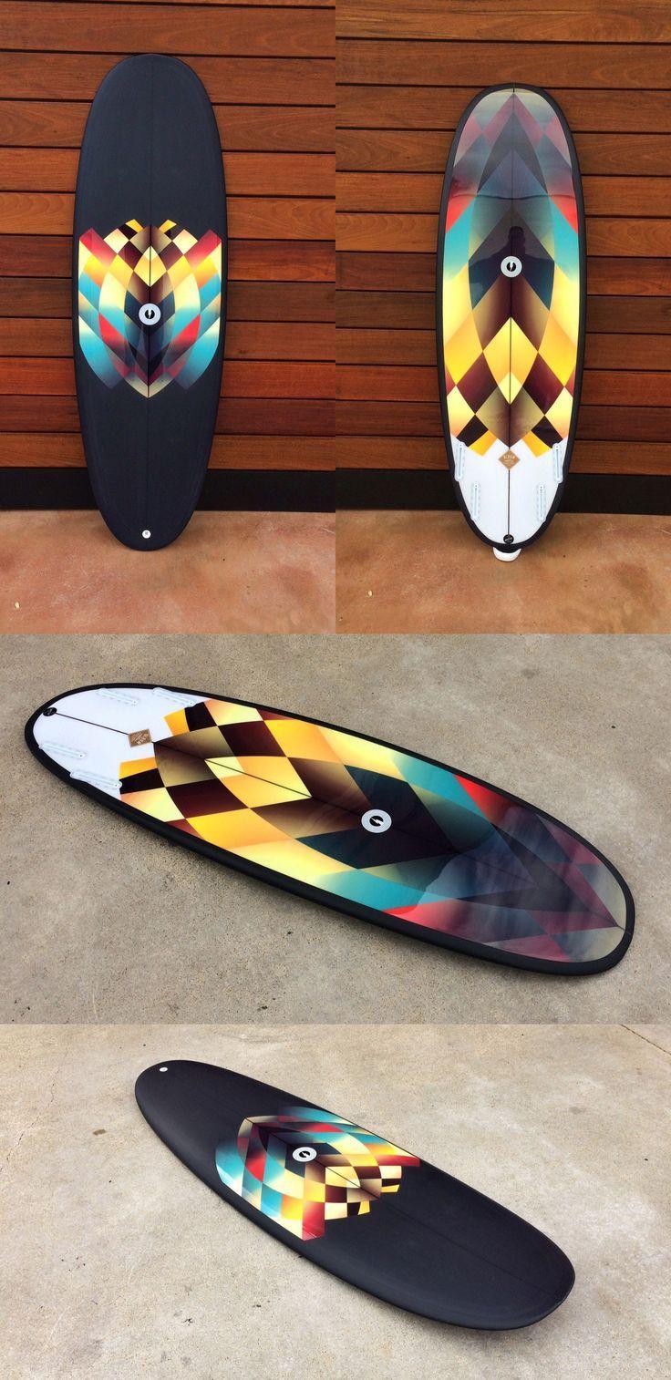 Deppen custom wood canoe paddles - Stunning Album Surfboard By Pierre Kiandjan