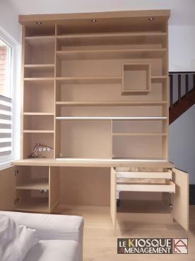 1000 id es sur le th me armoires sur mesure sur pinterest salle de bain en bambou cuisines. Black Bedroom Furniture Sets. Home Design Ideas