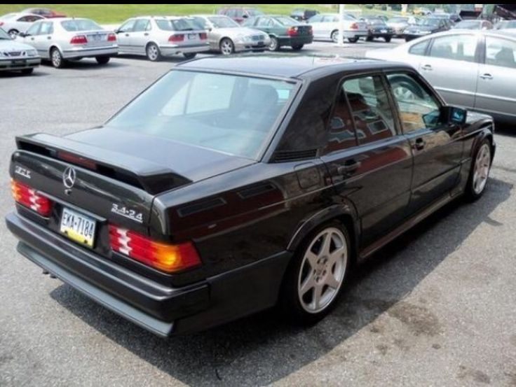 71 best mercedes 190e images on pinterest mercedes 190 learn more about renntech sleeper 1987 mercedes benz on bring a trailer the home of the best vintage and classic cars online sciox Gallery