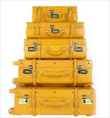 //Yellow Suitcases, Yellow Luggage, Mellow Yellow, Steamline Luggage, Vintage Luggage, Mellowyellow, Honey Bees, Mustard Yellow, Colors Yellow