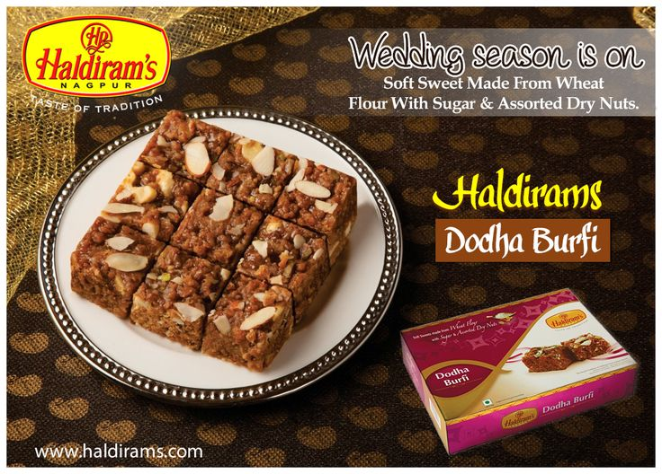 Take delight taste of #haldiramsdodhaburfi More details:  http://www.haldirams.com/sweets/packed-sweet/doodha-burfi.html