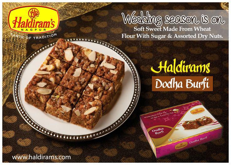 Take delight taste of #haldiramsdodhaburfi More details:  http://www.haldirams.com/sweets/packed-sweet/doodha-burfi.html