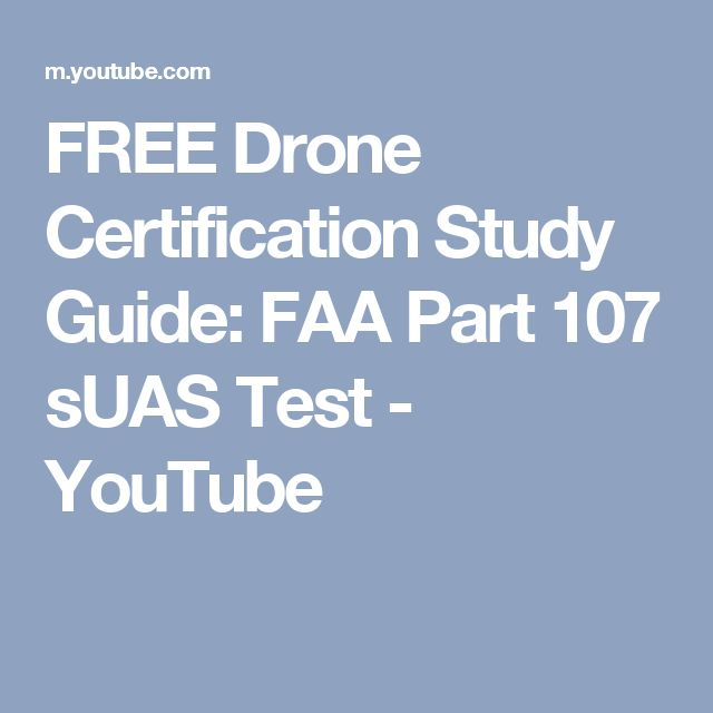 free drone certification study guide: faa part 107 suas test ...